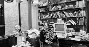 John Horton Conway in his Princeton Office